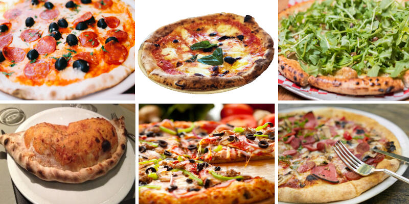 ភីហ្សាអ៊ីតាលីរស់ជាតិគ្រឿងសមុទ្រ Pizza Frutti Di Mare (seafood)