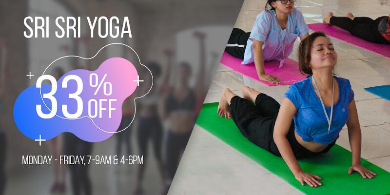 Sri Sri Yoga កម្រិតដំបូង