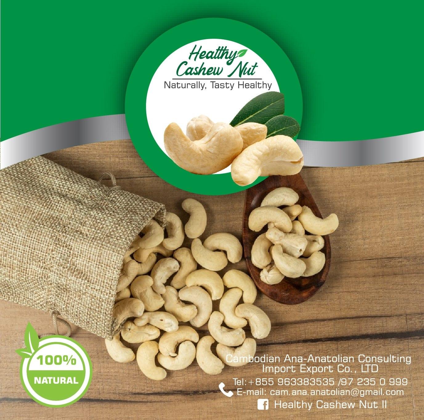 Healthy Cashews Cambodia